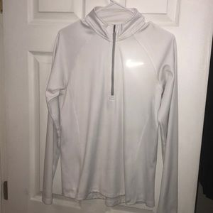 Nike dri fit zip up pullover